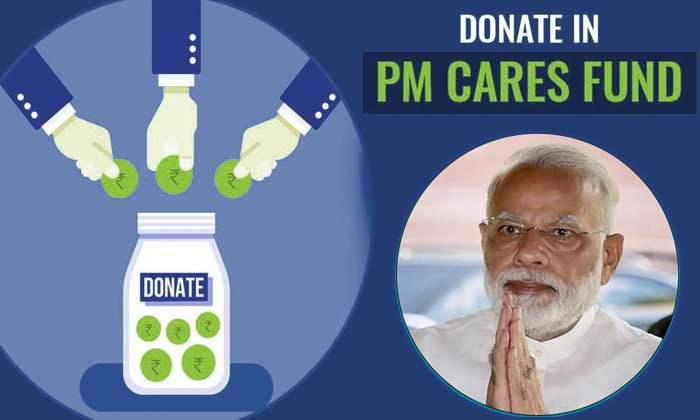 PM CARES fund - All Revenue Department officials and employees to pay one day salary each month from May 2020 up to March 2021