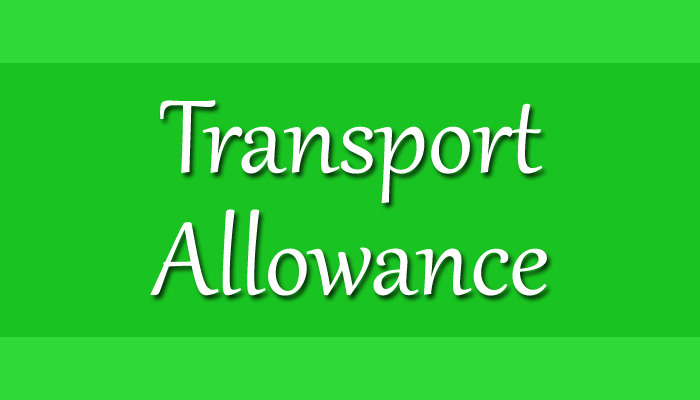 Transport Allowance to Central Govt Employees
